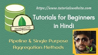 Mongodb Tutorials for beginners in Hindi | Aggregation functions on documents in MongoDB collections