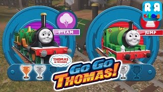 Thomas & Friends: Go Go Thomas! - Emily vs Percy | Battle of Green Engine