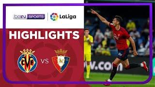 Villarreal 1-2 Osasuna Pekan 9