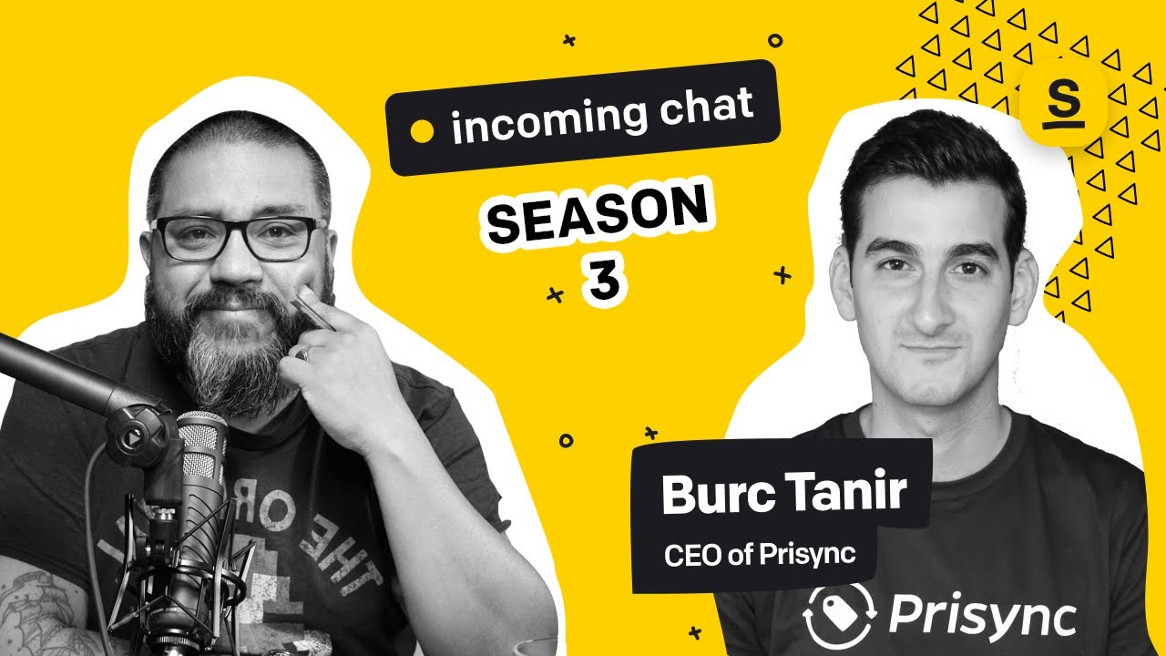 Incoming Chat #1: Ecommerce Pricing Strategies. With Burc Tanir