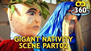 Nativity Scene 360º 4K #VirtualReality #360Video #VR #360 Part 02