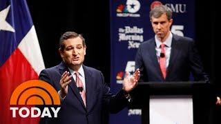 Texas Senate Race: Cruz And O'Rourke Clash In Fiery Debate | TODAY