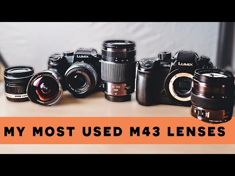 Best Micro Four Thirds Lenses 2019 // My Most Used Lenses