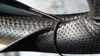 Оплетка на руль как шнуровать шнурком