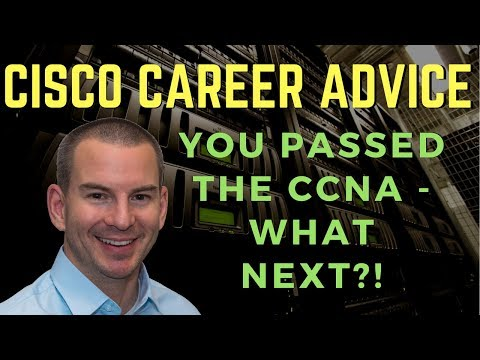 CCNA Certification Next Steps - What to Do After Passing the CCNA ...