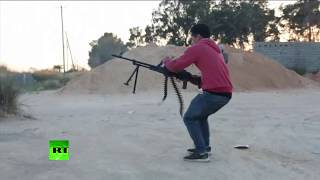 On The Frontline: Bullets Fly As Battle For Tripoli Continues