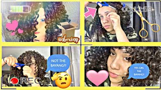 $35 START TO FINISH WIG INSTALL FT DONMILY HAIR AMAZON!!!!