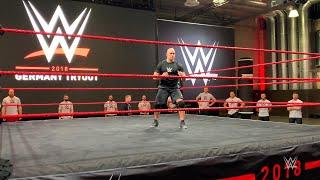 See How WWE Hopefuls Begin A WWE Tryout