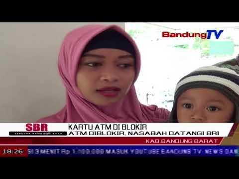 ATM Diblokir, Nasabah Datangi BRI | SBR | BANDUNG TV