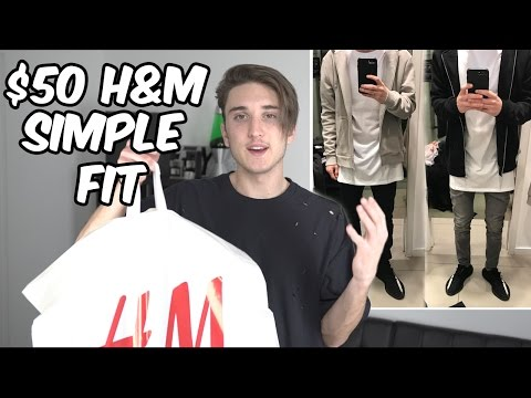 THE $50 H&M SIMPLE FIT