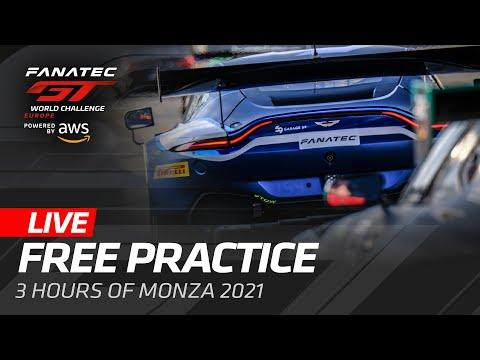 ブランパンGT 2021 モンツァ フリープラクティス動画