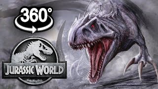 VR VIDEO 360° Jurassic World Dinosaurs In Virtual Reality