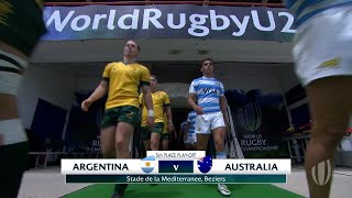 World Rugby U20 Highlights, Argentina-Australia 15-41