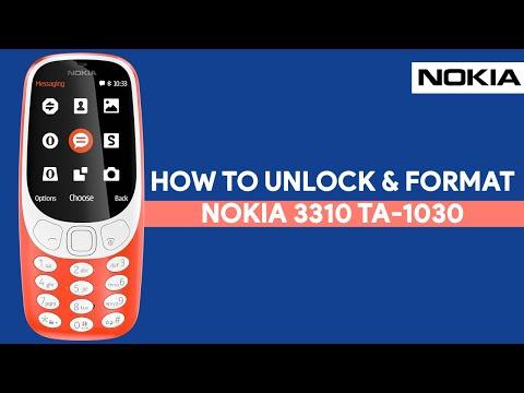 How To Unlock & Format Nokia 3310 TA-1030 - [romshillzz]