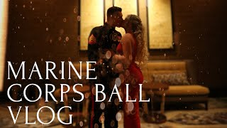 Marine Corps Ball Vlog | Get Ready With Me