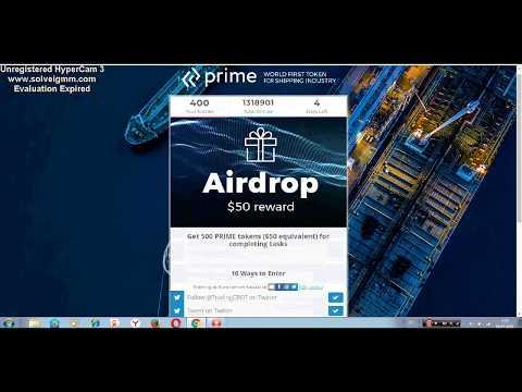 Prime Shipping│500 tokens 50$│AIRDROP Осталось 4 дня