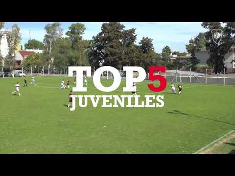 5 Los mejores goles del semillero vs. Platense