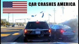 CAR CRASHES IN AMERICA #13 | BAD DRIVERS USA, CANADA | NORTH AMERICAN DRIVING FAILS