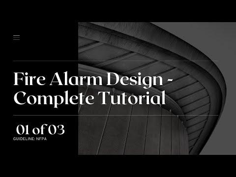 Fire Alarm Installation Training - Design Tutorial Part 1/3 #Firealarm ...