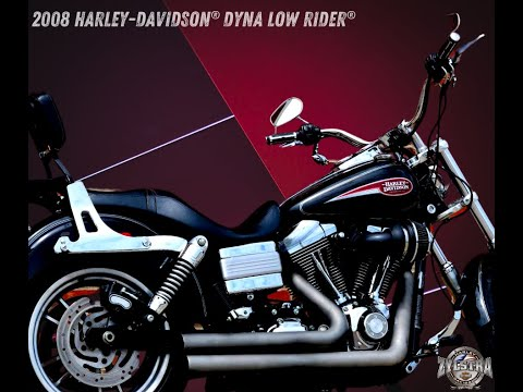 2008 Harley-Davidson Dyna Low Rider in Ames, Iowa - Video 2