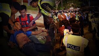 Two hurt in commotion after Malaysia Cup semi-final tie