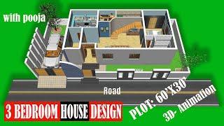 3 Bedroom Duplex House Design Plans As  3d Home Design-2 Story Bungalow-simple House Drawing Design