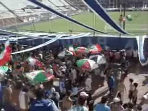 """""""Velez vs Huracan (en la Quema)"""" Barra: La Pandilla de Liniers • Club: Vélez Sarsfield • País: Argentina"""