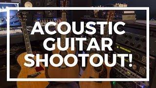 Acoustic Guitar Shootout.