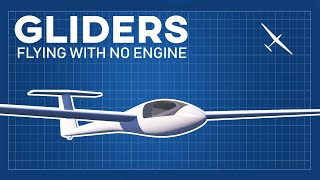 How can gliders fly without propulsion | The most complete explanation