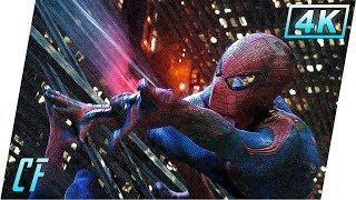 Новый Человек-паук (2012) | Раненый Человек-паук летит в ОСКОРП | Клип