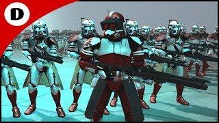 COMMANDER FOX'S ORDER 66 ATTACK! - Men of War: Star Wars Mod