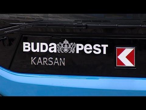 Forgalomba álltak az új budavári midibuszok-2015 - video preview image
