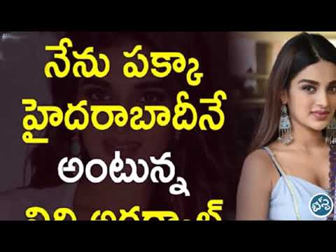 Nidhhi agerwal hot latest photos video
