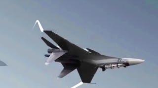 Вновь обидный перехват от Су-27!  Может просто не надо к нам соваться