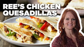 How To Make Rees Easy Chicken Quesadillas | Food Network