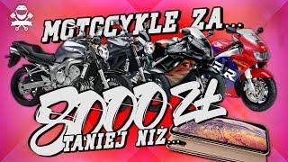5 Motocykli Tańszych i Lepszych niż iPhone Xs Max! Tani Motocykl do 8000 zł