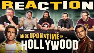 Once Upon A Time In Hollywood - Official Teaser Trailer REACTION!!