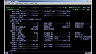 Working with IBM VSAM JCL (Job Control Language)  - M25