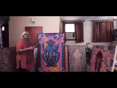 Artist Kanchan Chander Talks to Wall TV