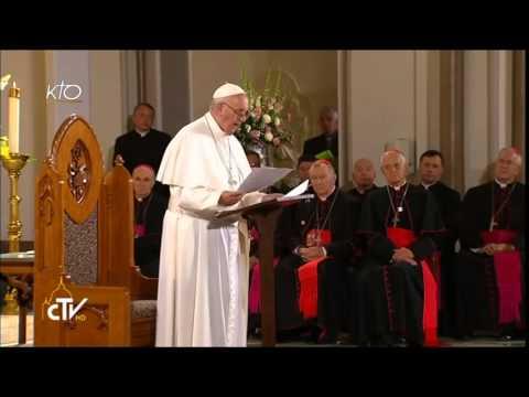 Rencontre du Pape François avec les sans-abris