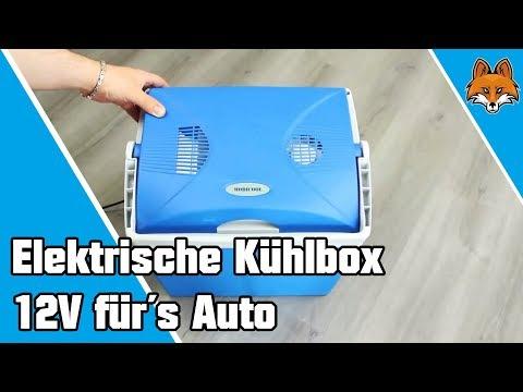 Elektrische Kühlbox für´s Auto mit 12V Anschluß ❄