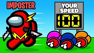 IMPOSTORS are 500% FASTER in Among Us Mini Game