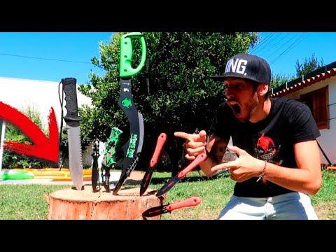 CUCHILLO FLIP CHALLENGE !! EL MEJOR RETO DE CUCHILLOS Flippy Knife MAKIMAN