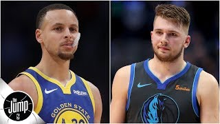 Luka Doncic getting more All-Star votes than Steph is 'disrespectful' - Tracy McGrady   The Jump