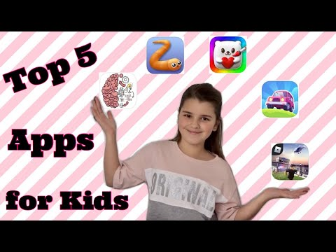 My Top 5 Apps For Kids When Self Isolating Quarantine | #mytopfive #mytop5 #top5 | Bella Mix