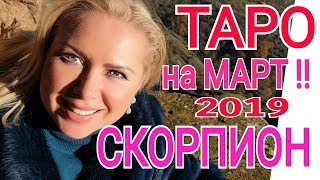 СКОРПИОН ТАРО на МАРТ 2019