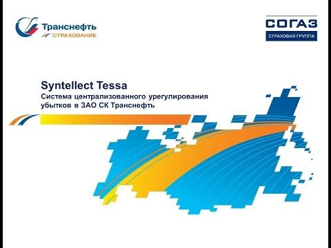 Система централизованного урегулирования убытков в ЗАО СК Транснефть || СЭД TESSA