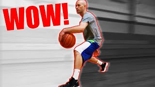 See How FAST This Improves Your Ball Handling! (Dribble A Basketball Better)