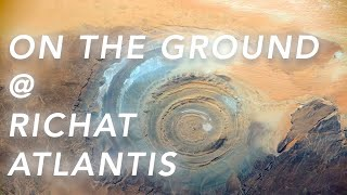 Evidence From The Ground That The Richat Structure Is Atlantis