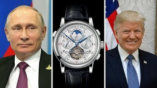 Watches Of World Leaders & Prominent Figures | (Trump, Putin, Pope Francis, Dalai Lama & More)
